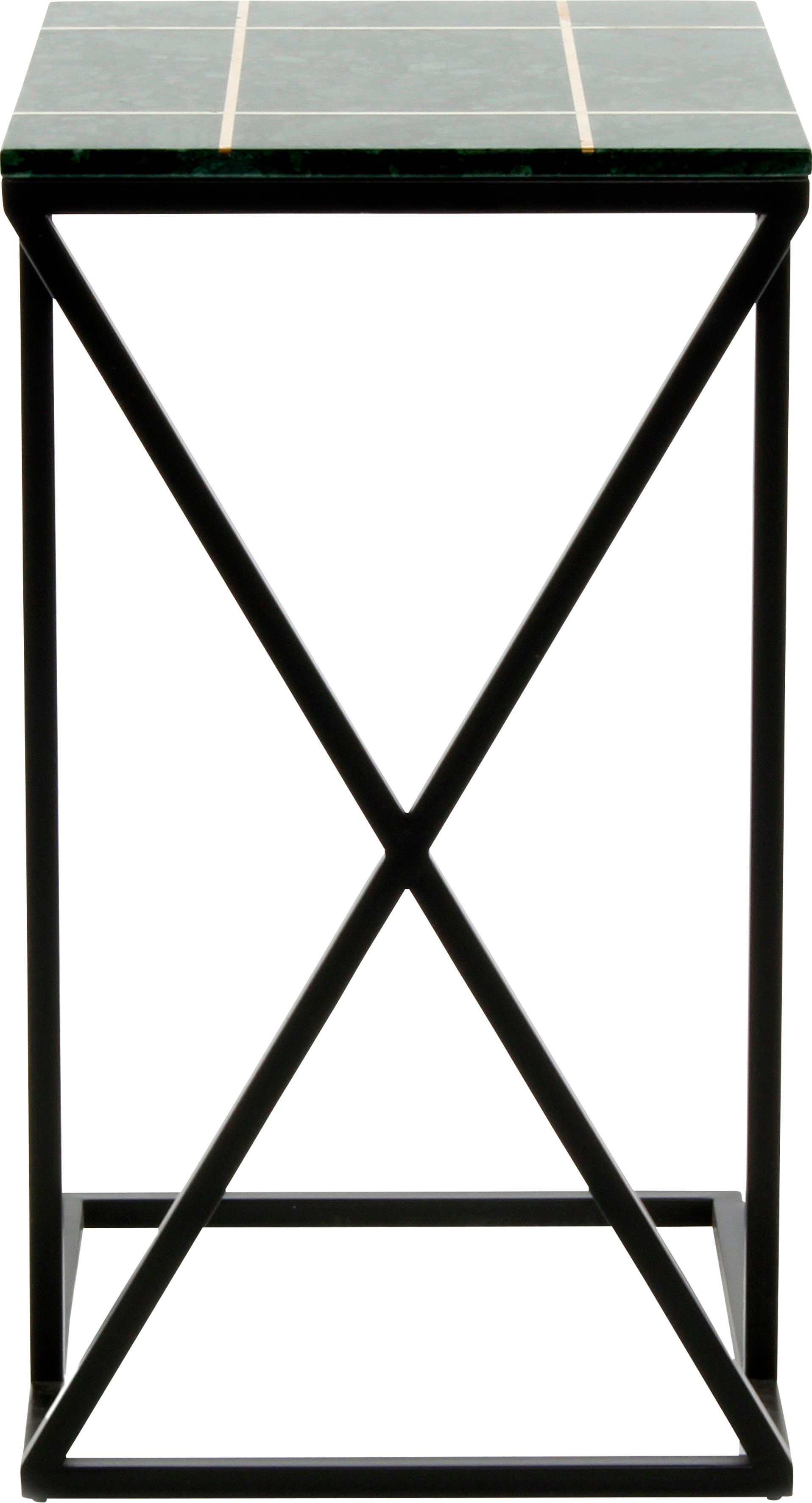 Kayoom bijzettafeltje Bijzettafel Louis 125 Marmer-tafelblad - verschillende betaalmethodes