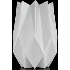 kaiser porzellan siervaas »polygono star« wit