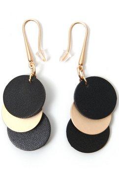 j.jayz oorhangers rondjes, mat, zwart, elegant zwart
