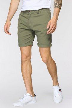 tommy jeans chino-short tjm scanton chino-short groen