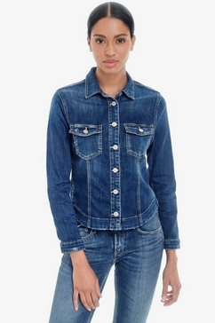 le temps des cerises jeansjack »lilly« blauw