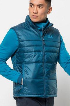 jack wolfskin functionele bodywarmer argon vest m blauw