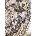 s.oliver plateausneakers in slangen-look beige