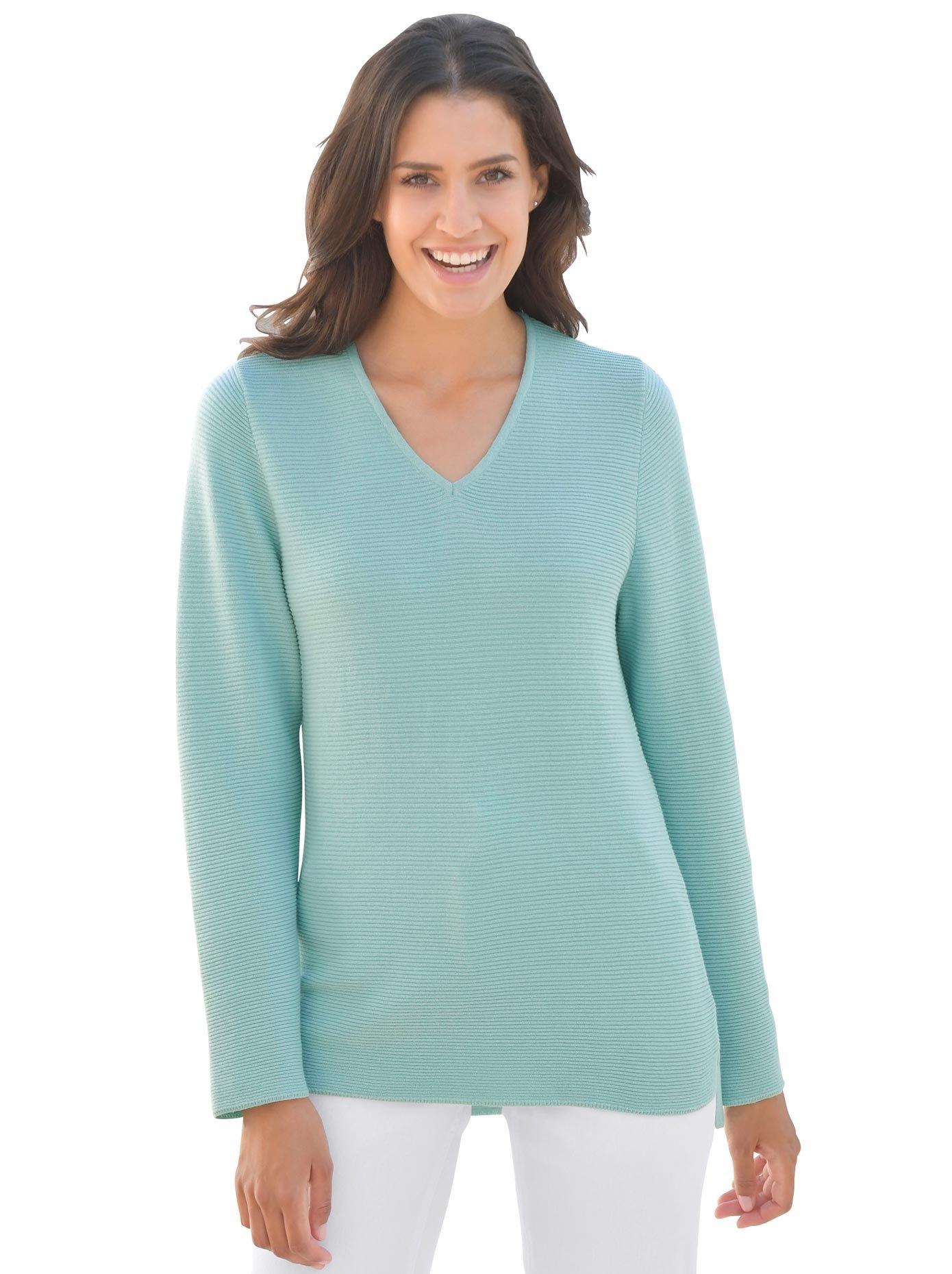 Casual Looks Classic Inspirationen trui met V-hals nu online bestellen