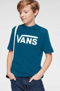 vans t-shirt »vans classic boys« grijs