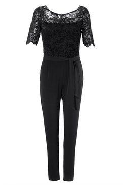 aniston selected jumpsuit zwart