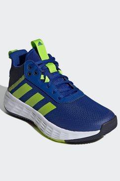 adidas basketbalschoenen ownthegame 2.0 blauw