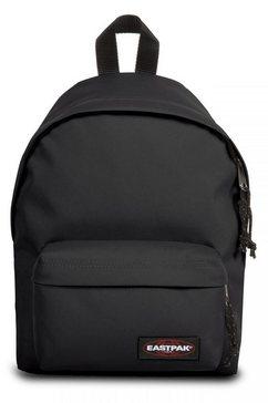 eastpak rugzak orbit, black bevat gerecycled materiaal (global recycled standard) zwart