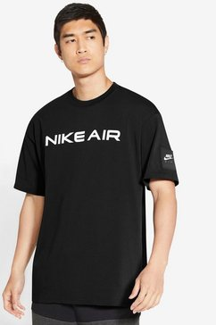 nike t-shirt »nike air men's t-shirt« zwart