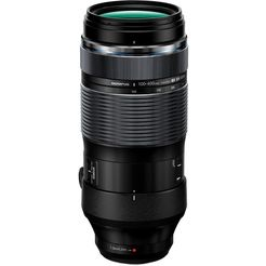 olympus objectief m.zuiko digital ed 100-400 mm f5,0-6,3 is zwart