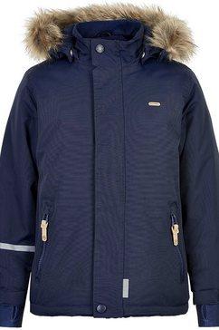 minymo ski-jack »snow jacket tussor« blauw