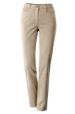 casual looks prettige jeans bruin
