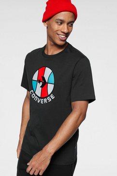 converse t-shirt »classic bball ss tee« zwart