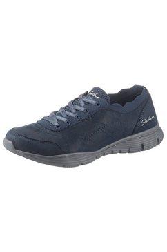 skechers slip-on sneakers »seager« blauw