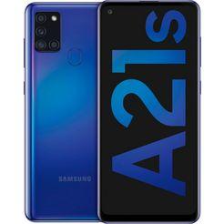 samsung »galaxy a21s« smartphone blauw