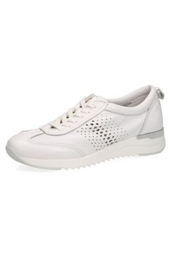 caprice sneakers met perforatie opzij wit
