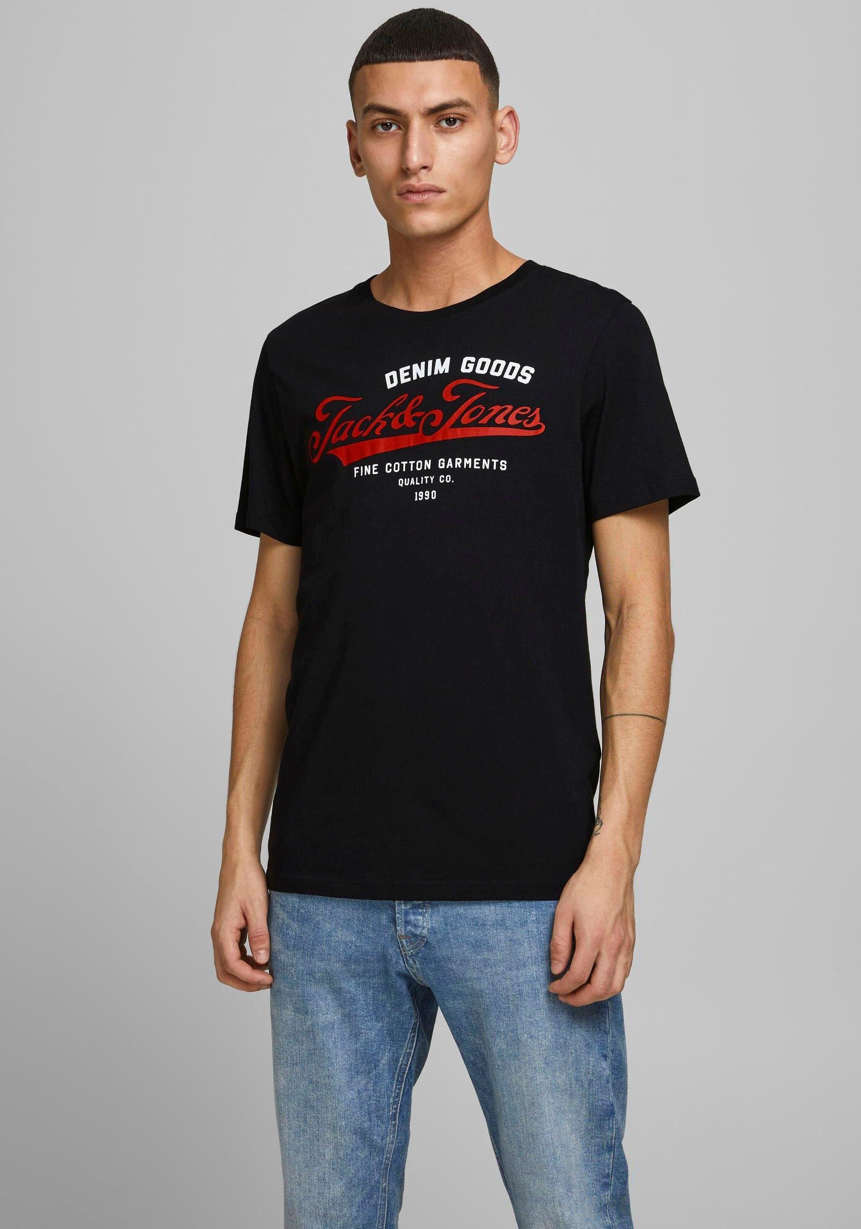 Jack & Jones T-shirt Logo Tee bestellen: 30 dagen bedenktijd