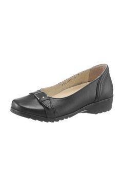 ballerina's met uitneembaar voetbed zwart