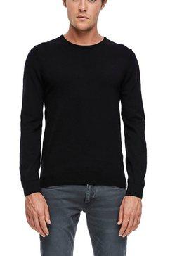 s.oliver trui met ronde hals zwart