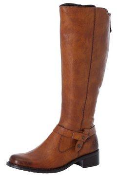 rieker laarzen met extra ritssluiting achter bruin