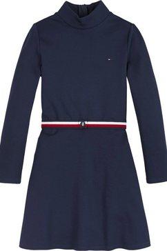tommy hilfiger jurk in a-lijn blauw