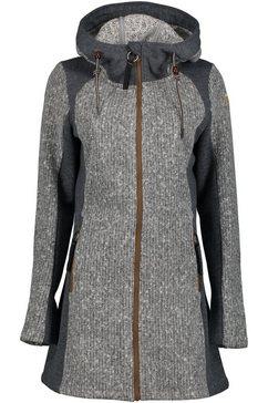 torstai tricot-fleecejack momo grijs