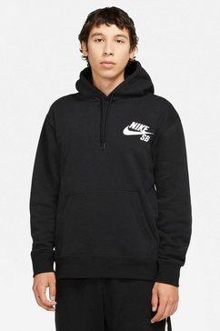nike sb hoodie »nike sb icon men's pullover skate hoodie« zwart