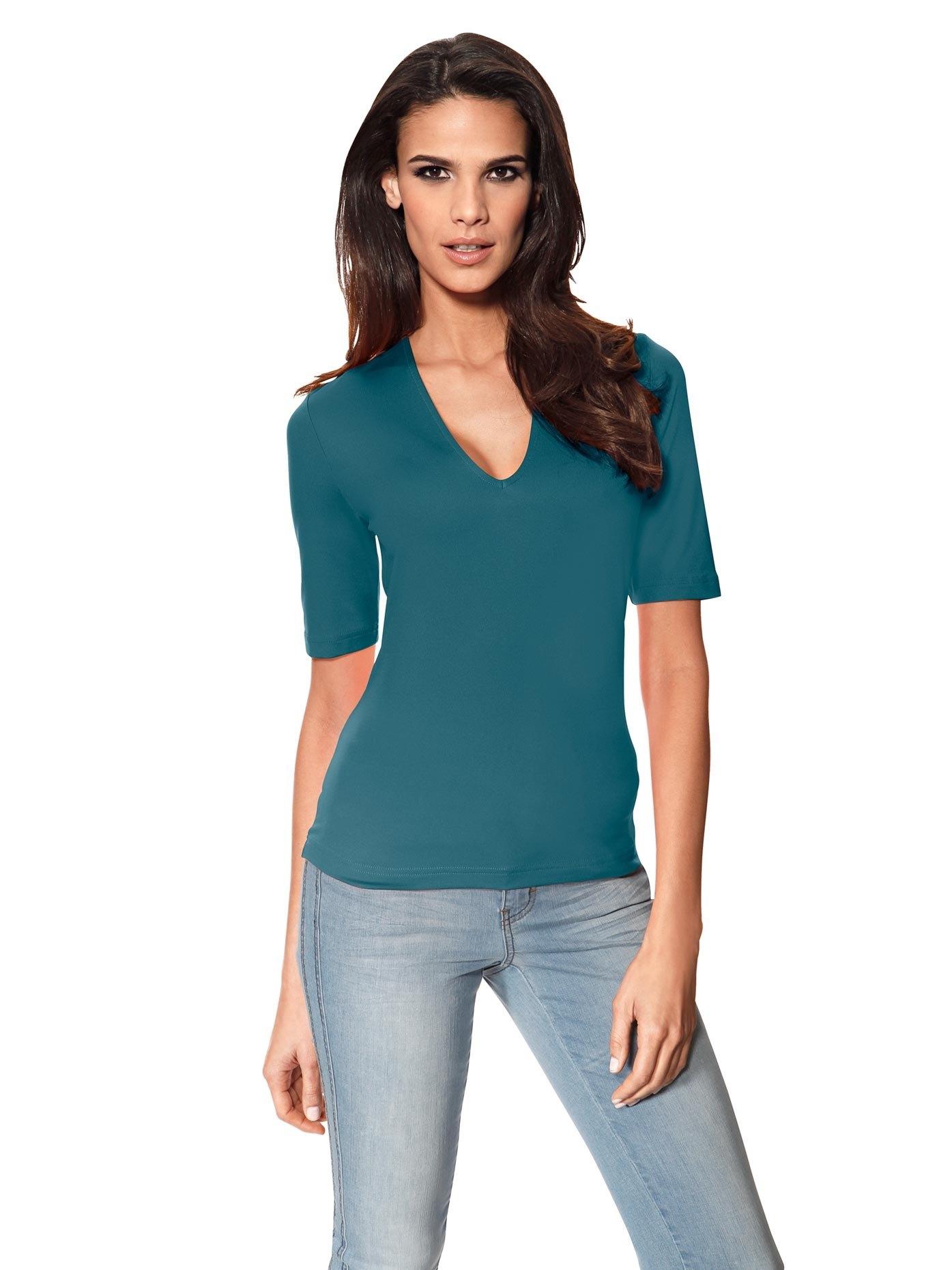 ASHLEY BROOKE by Heine Shirt met V-hals online kopen op otto.nl