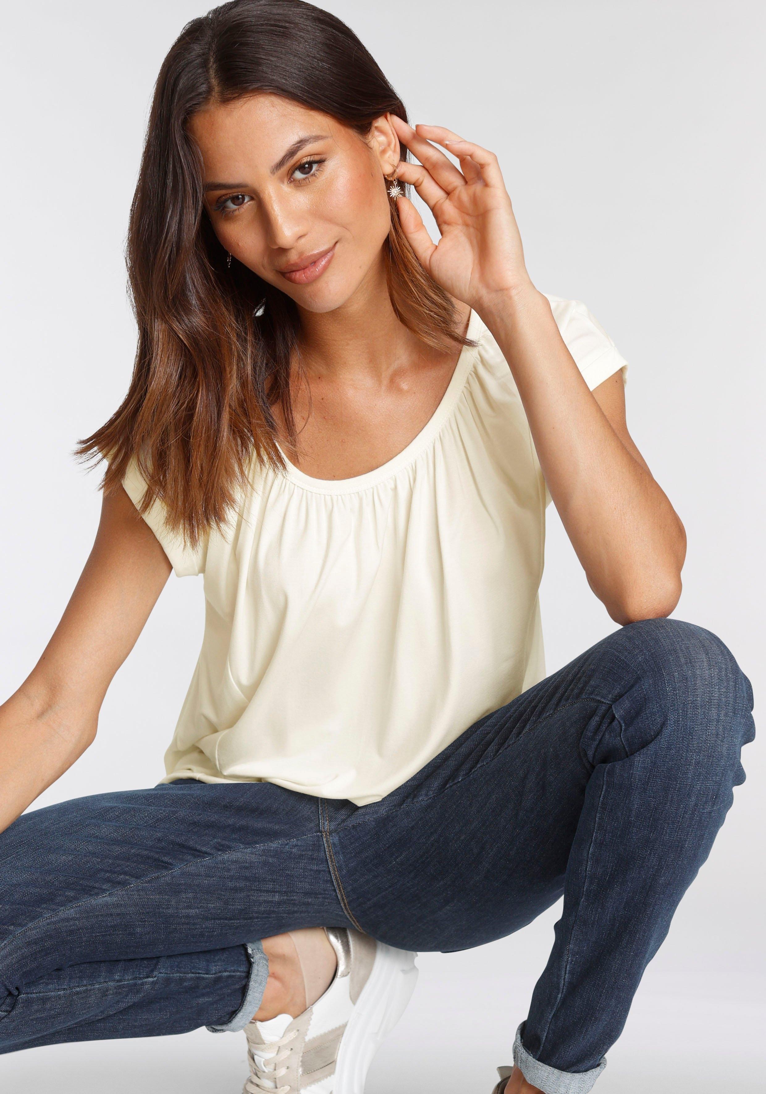 soyaconcept shirt met korte mouwen SC-MARICA4 in frisse kleuren bestellen: 30 dagen bedenktijd