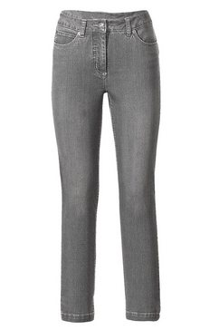 corrigerende jeans grijs