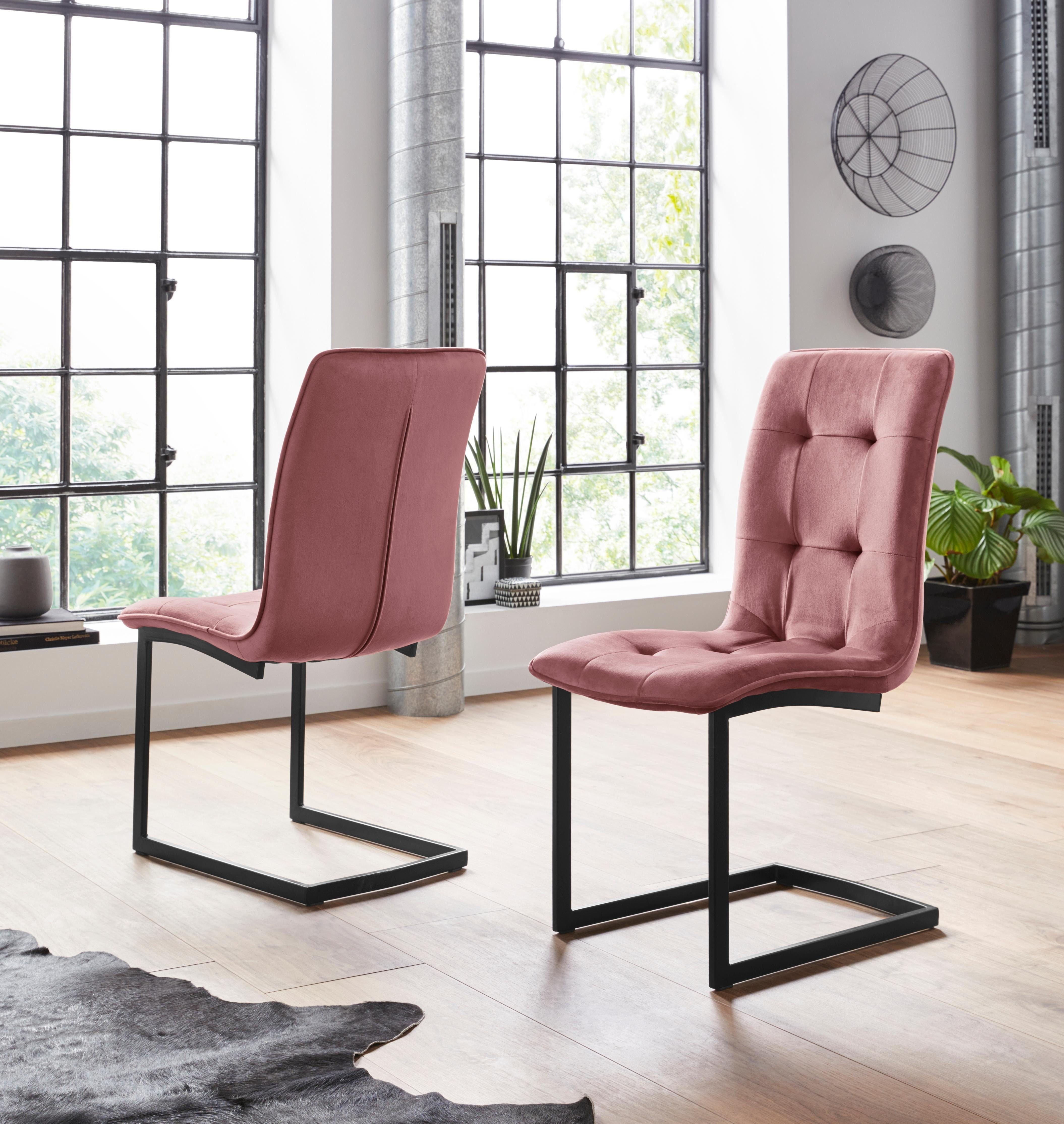 vrijdragende stoel Ofelia (2 stuks) - gratis ruilen op otto.nl