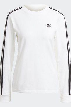 adidas originals shirt met lange mouwen adicolor classics longsleeve wit