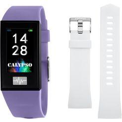 calypso watches smartime, k8500-2 smartwatch paars