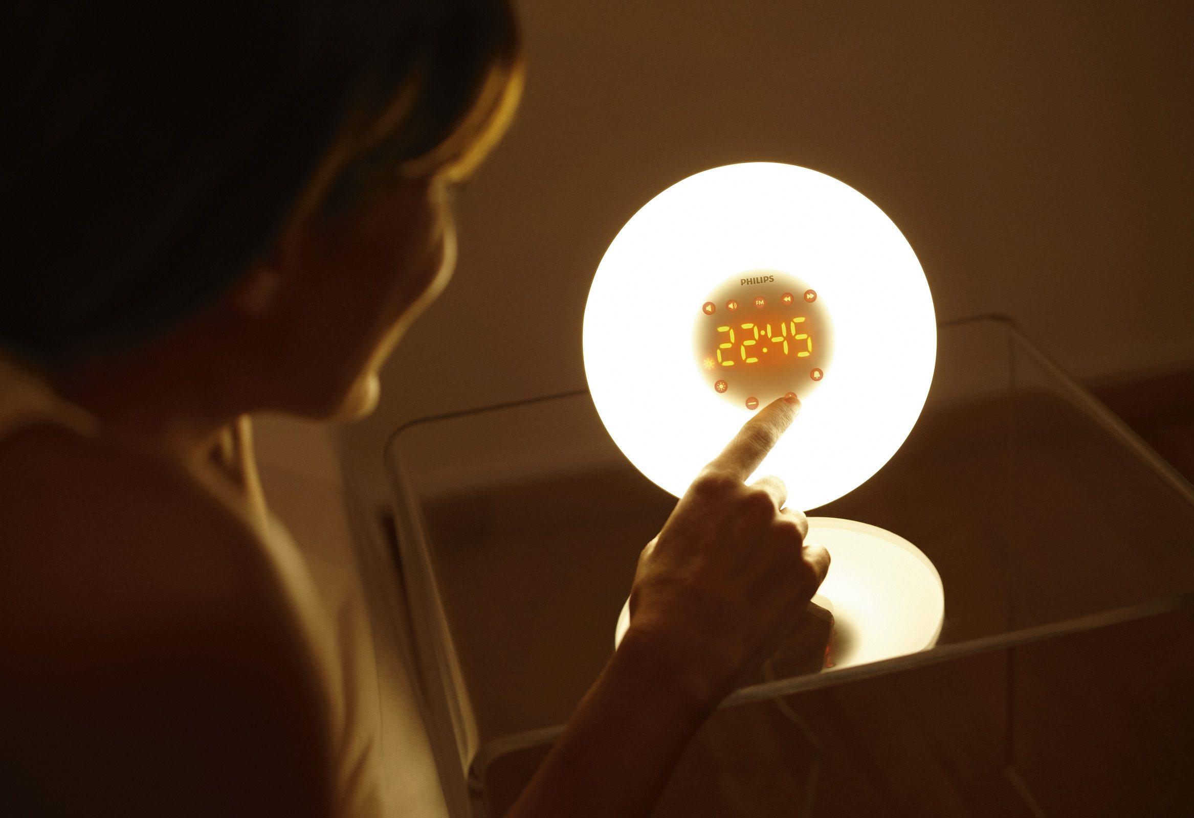 Philips Wekker Licht : Philips wake up light hf bestellen bij otto