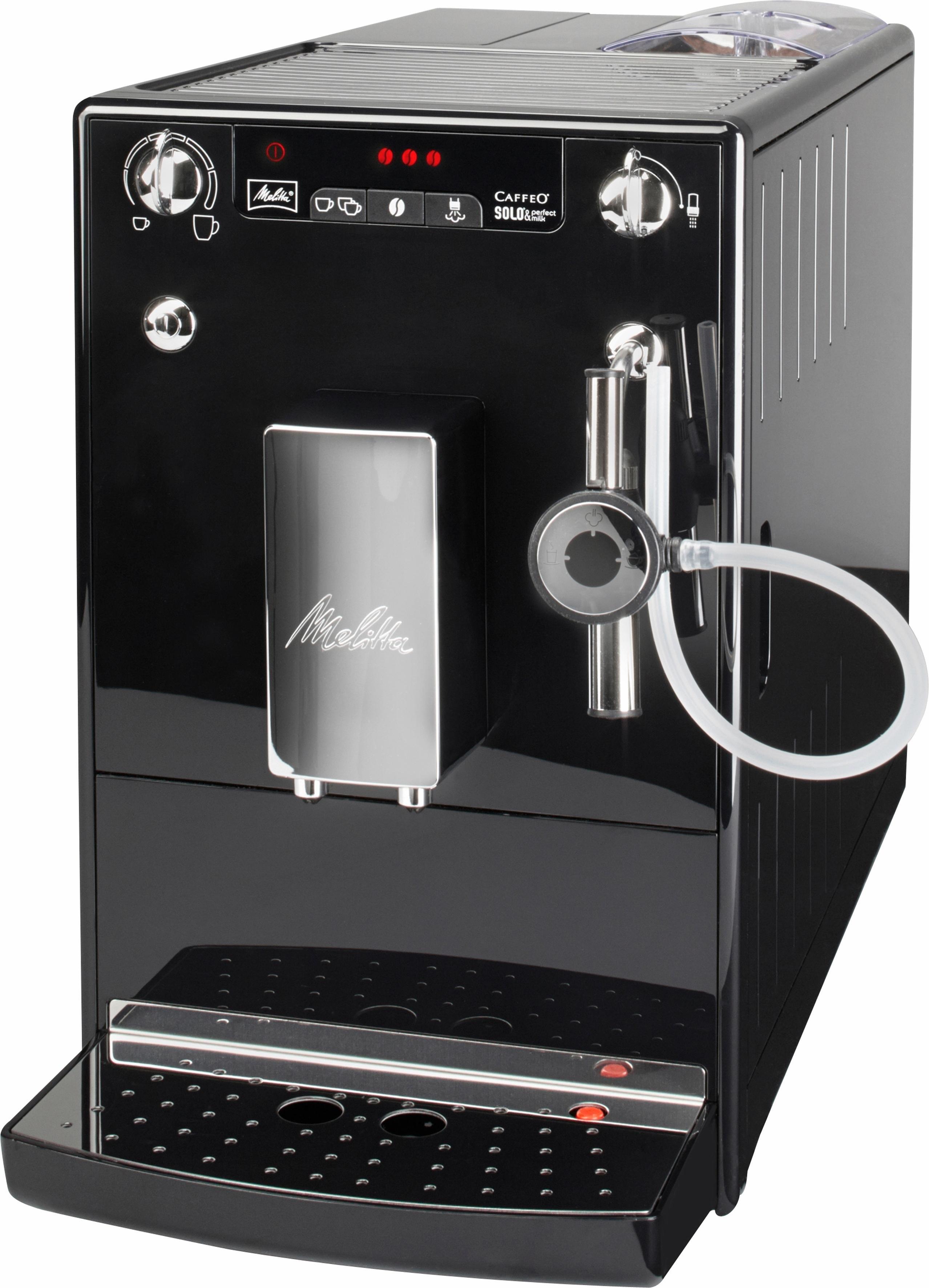 melitta volautomatisch koffiezetapparaat caffeo solo e 957 101 zwart online verkrijgbaar otto. Black Bedroom Furniture Sets. Home Design Ideas
