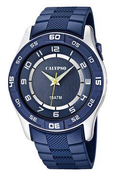 calypso watches, horloge 'k6062-2' blauw