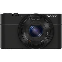sony compact-camera cyber-shot dsc-rx100m1 roterende panoramaopnamen met tot 360 graden zwart