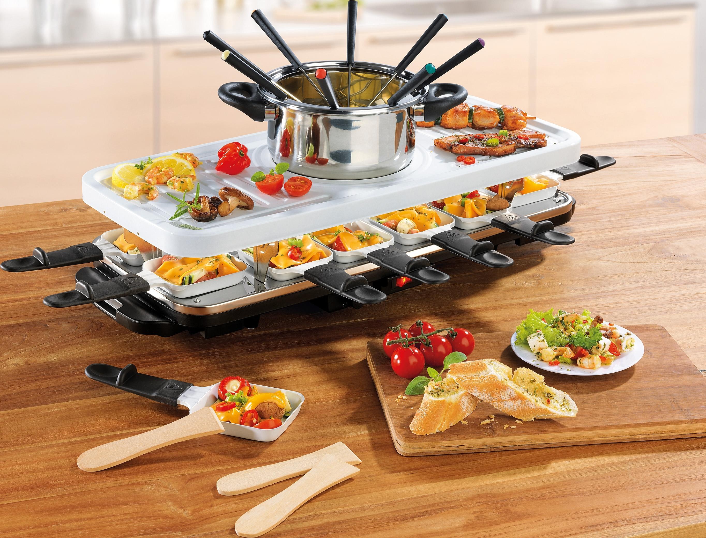 Gourmetmaxx GOURMET MAXX raclette- en fondueset, keramiek, 1600 W veilig op otto.nl kopen
