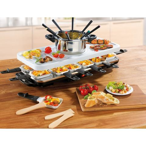 GOURMET MAXX Raclette- en fondueset