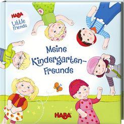 haba boek vriendenboekje little friends – meine kindergarten-freunde multicolor