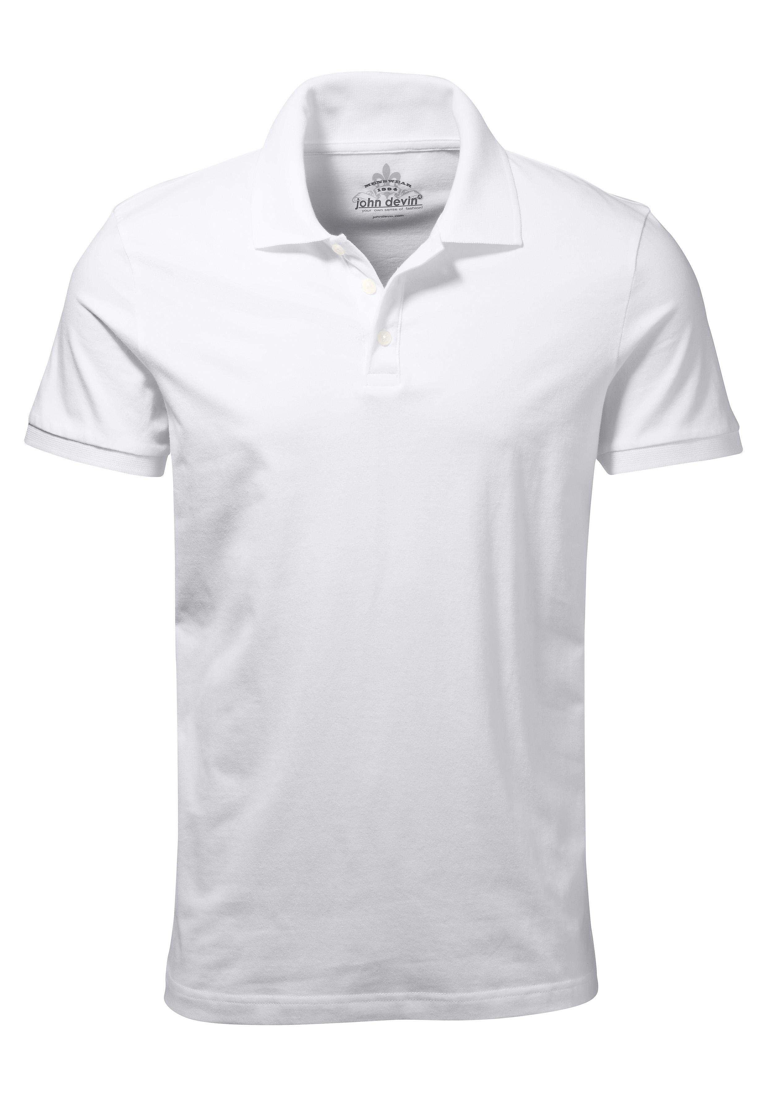 John Devin Poloshirt van katoen nu online bestellen