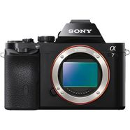 sony alpha 7 ilce-7 body systeemcamera, 24,3 megapixel, 7,5 cm (19,1 inch) display zwart