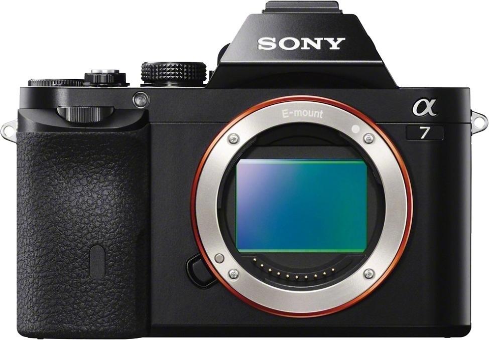 SONY Alpha 7 ILCE-7 Body Systeemcamera, 24,3 Megapixel, 7,5 cm (19,1 inch) Display voordelig en veilig online kopen