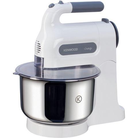 Kenwood Handmixer Chefette HM680 , 5 opstappen, wit, 350 Watt