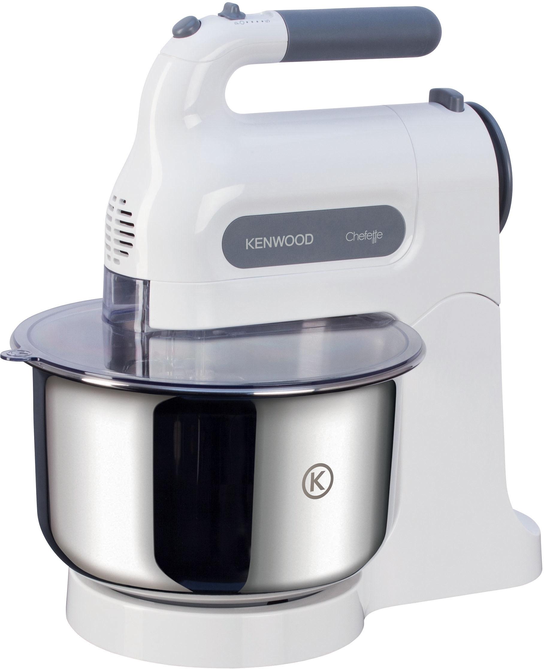 Kenwood Handmixer Chefette HM680 , 5 opstappen, wit, 350 Watt online kopen op otto.nl