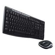 logitech toetsenbord en muis mk270 us-layout zwart