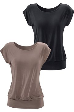 Lang shirt in set van 2