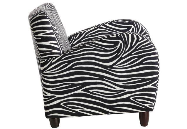 inosign fauteuil in zebra look online bestellen otto. Black Bedroom Furniture Sets. Home Design Ideas