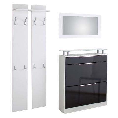 Complete garderobes Halmeubelset Astor 3-delig 369225