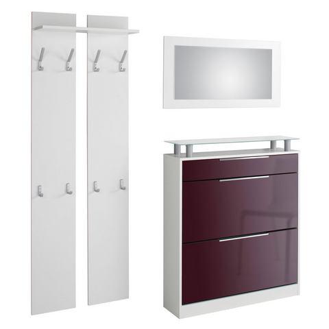 Complete garderobes Halmeubelset Astor 3-delig 646298